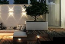 Gardens, courtyards, terrace - outdoors