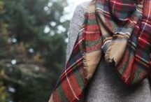 Beautiful threads / Beautiful clothes, tartan, redheaded ladies