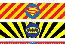 Superhero Downloadables / Superhero Printables