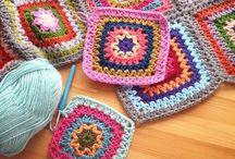 Grannysquares / Different patterns for granny square