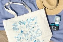 Maptote Weddings / Custom wedding totes perfect for guest welcome bags, bridesmaids gifts, and favors!