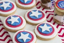 Captain America Party / Superhero party, kids party