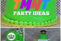 Teenage Mutant Ninja Turtle Party / Superhero party, kids party