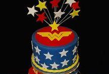 Wonder Woman Party / Wonder Woman, superhero party.