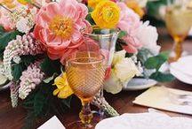 SPRING WEDDINGS / Spring wedding inspiration, spring wedding ideas, spring bouquets, spring bridesmaid dresses, spring wedding decor, spring wedding ideas, how to plan a spring wedding, spring wedding DIY's.
