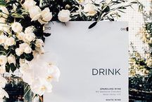 WEDDING DRINKS + COCKTAILS / Wedding bar, wedding bar ideas, signature wedding cocktails, signature wedding drinks, DIY wedding bar, outdoor wedding bar, bar ideas for a wedding, how to calculate how much alcohol you need for a wedding, decorating the bar wedding, wedding beer, unique ways to display drinks, coffee bar wedding, juice wedding, colorful ideas for a bar wedding, rustic bars wedding, modern bar weddings, simple bar ideas, bar signage wedding, signature cocktail sign