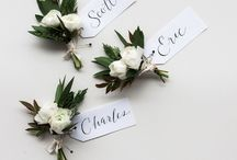 WEDDING BOUTONNIERES AND CORSAGES / Wedding boutonnieres, DIY boutonnieres, fall wedding boutonnieres, winter wedding boutonnieres, spring wedding boutonnieres, summer wedding boutonnieres, boutonniere ideas, boutonniere inspiration, how to make boutonnieres, simple boutonnieres, wedding corsages, wedding party corsages, wedding party boutonnieres, bridal party flowers, white boutonnieres, classic boutonnieres, colorful boutonnieres, Boho boutonnieres, rustic boutonnieres, modern boutonnieres, unique boutonnieres