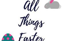 All Things Easter, featuring Crafts, Games Food and Much More! / The one stop board for all things Easter related. If you're looking for breakfast recipes, yummy treats, basket ideas, fun games for the whole family and more, then this is the board to follow!