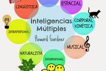 INTELIGENCIAS MÚLTIPLES / En éste tablero podréis encontrar varias herramientas para trabjar las Inteligencias mútiples, que no es más que la  habilidad para resolver problemas de la vida real, encontrar y crear nuevos problemas y ofrecer un producto o servicio que sea valorado por lo menos por una cultura