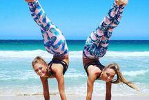 Gymnastics and Balerine