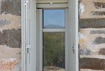 Wooden windows- Accoya wood / Wooden frames and shutters for windows - Accoya Wood