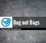 Bug out Bags / Information on how to create a bug out bag to survive during the first 72 hours following a disaster.