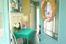 Home sweet home / various ideas for decorating and making my house a home