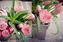 centre pieces and floral arrangements / centre pieces or floral arrangements for the home or weddings