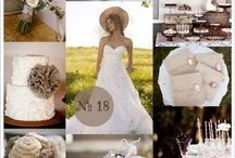 rustic chic wedding / rustic, hessian,burlap,lace wedding ideas for a country outdoor wedding