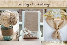 rustic burlap and lace wedding / rustic,shabby chic,burlap/hessian and lace wedding decor