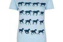 SHOP TARA KIWI / Horse t-shirts with a west coast twist!  Equestrian meets surf :)
