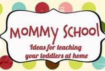 home schooling ideas / advice, printables for home schooling, and teaching kids