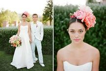 floral head gear. / by Nine Blooms
