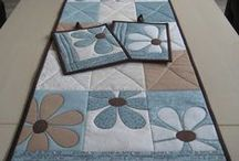 Quilting - patterns: table toppers