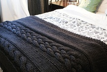 Knitting - afghan
