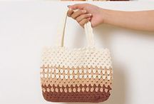 Crochet - bag/basket