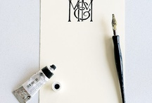 Stationery . Paper . Fonts  ❤ / by Gay Tice
