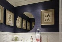 Millwork / Detailed wooden finishes, bookcases and trims. / by May I Suggest Designs by mcs