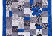 Quilting - patterns: splash of color