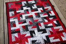 Quilting - patterns: reds