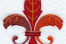 Embroidery - autumn