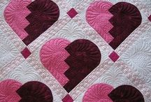 Quilting - patterns: pinks