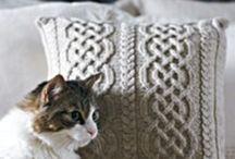 Knitting - pillows
