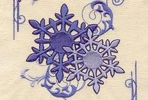 Embroidery - winter