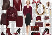 Color Story: Oxblood / aka burgundy, wine, maroon, garnet... / by The Succulent Wife