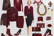 Color Story: Oxblood / aka burgundy, wine, maroon, garnet...