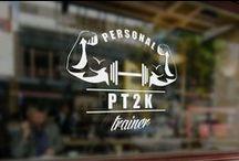 PT2K / PT2K (Personal Trainer Kaan Kılıçarslan ) için tasarladığımız kurumsal kimlik ve ürün tasarımları