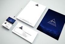 ULUDAĞ GEOTEKNİK VE İNŞAAT / Uludağ Geoteknik ve İnşaat firması için tasarladığımız kurumsal kimlik tasarımı