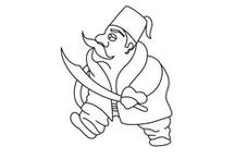 OSMANLI KARAKTERLERİ / Osmanlı karakterleri illustrasyonları