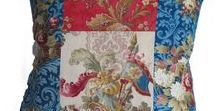 shop MJM antique pillows / A selection of antique textile pillows designed by Mary Jane McCarty