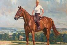 Equestrian Art / Horse inspired paintings, drawings, sculpture and more.