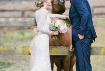 Equestrian Weddings / A horse affair...champagne and horse shoes!!!