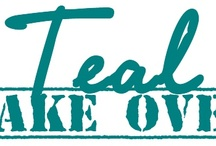 'Teal' Everyone Knows - Ovarian Cancer Awareness / by Crystal Dunn