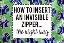 Tips + Techniques / #Sewing #Fabric #SewingTutorials #SewingTips