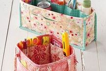 DIY: Organization + Storage / Organization and storage make for a peaceful home and more time to craft! Find tutorials and inspiration on creative organization and storage.  / by Fabric.com