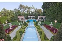 Decadent Outdoor Living / Gardens, pools, patios, and terraces to retreat, relax, and entertain