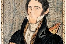 American Folk Art - Portraits / Early Portraits