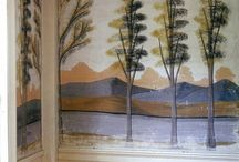Rufus Porter, Early Murals, Fireboards and More... / Early Murals, Fireboards by Rufus Porter and other early folk artists