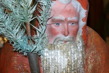 Christmas / We have collected Christmas for 35 years. See all my Christmas boards including Christmas Candy Containers, Santas Candy containers, Early Santas, Antique Blown Glass Ornaments, Dresdens, Kugels, Christmas II, Victorian Wire Wrapped ornaments, Sebnitz, and American Country Christmas and more. . .