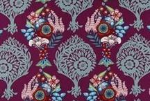 Free Spirit Fabric: Bold, Edgy, Retro, Larger Scaled Prints!